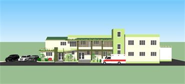 Architectural plans for expanding FBSAHaiti medical clinic and nursing school.